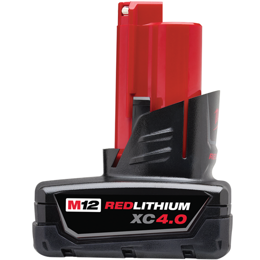 48-11-2440 M12 REDLITHIUM XC 4.0 EXTEND CAPACITY BATTERY PK