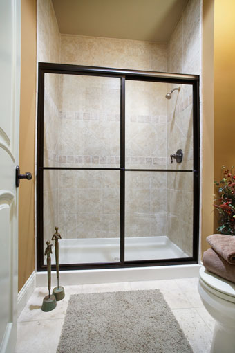 Framed Bypass Shower Doors