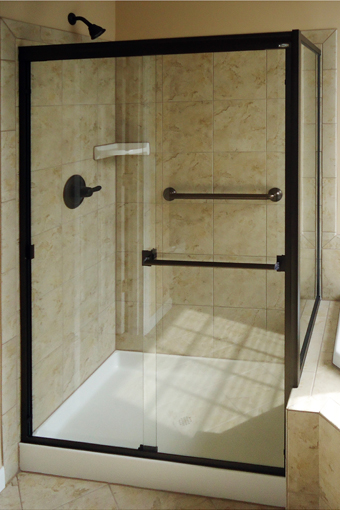 Frameless Bypass Shower Doors St Hilaire Supply Co