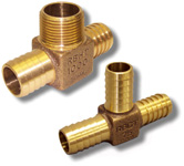 Brass Hydrant Tee Adapters