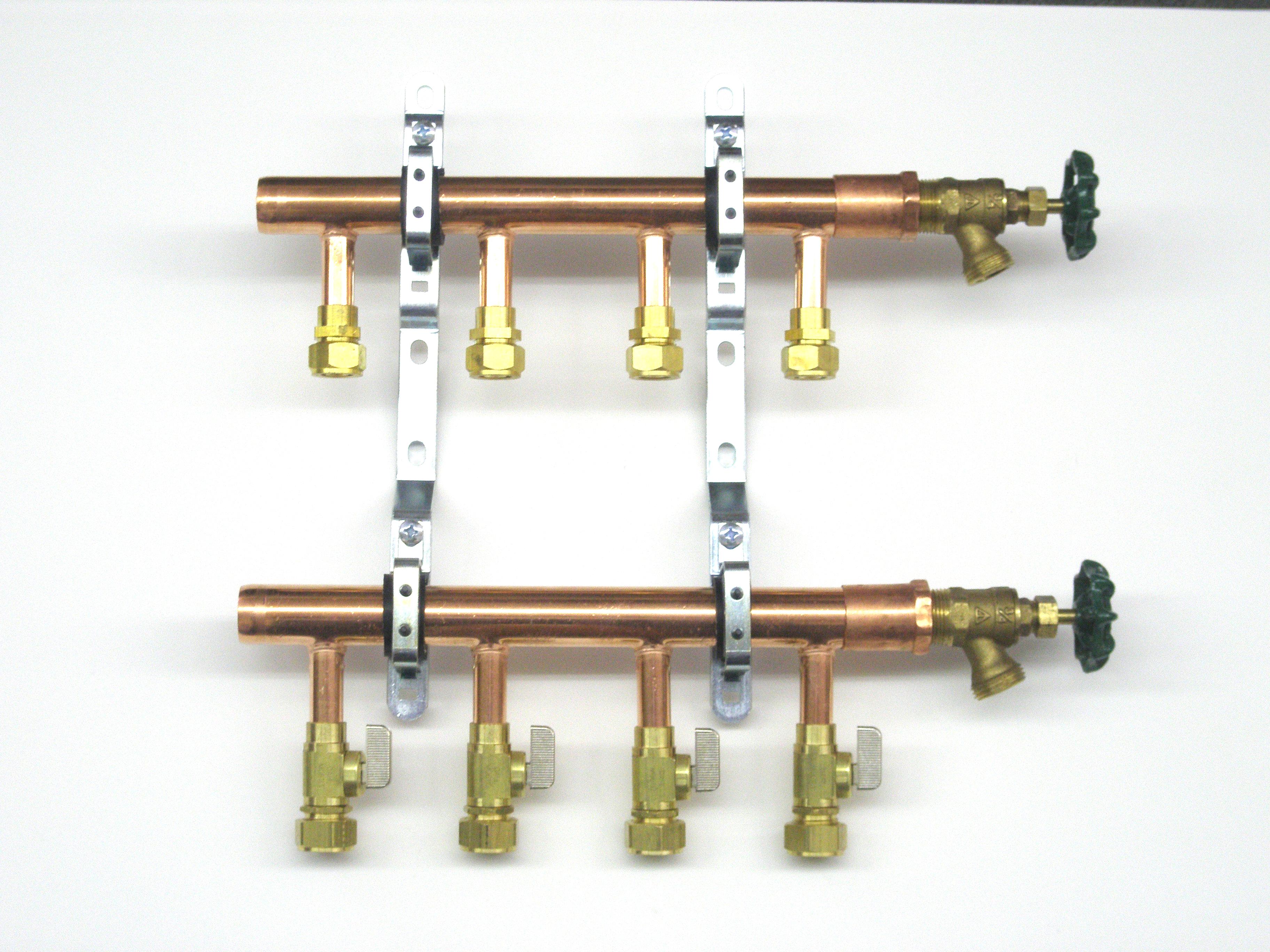 Copper Unassembled Pex-Al-Pex Manifolds