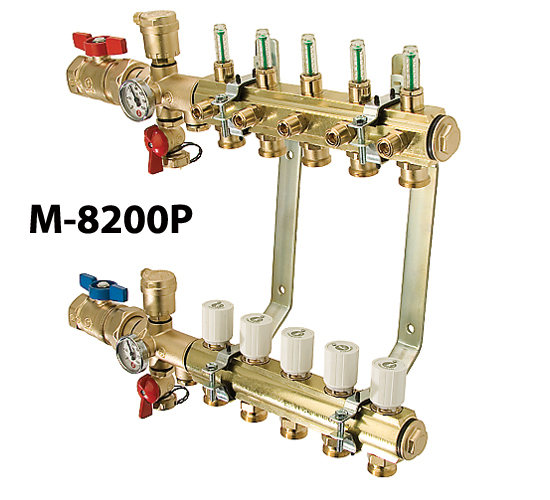 High Capacity Preassembled Manifolds