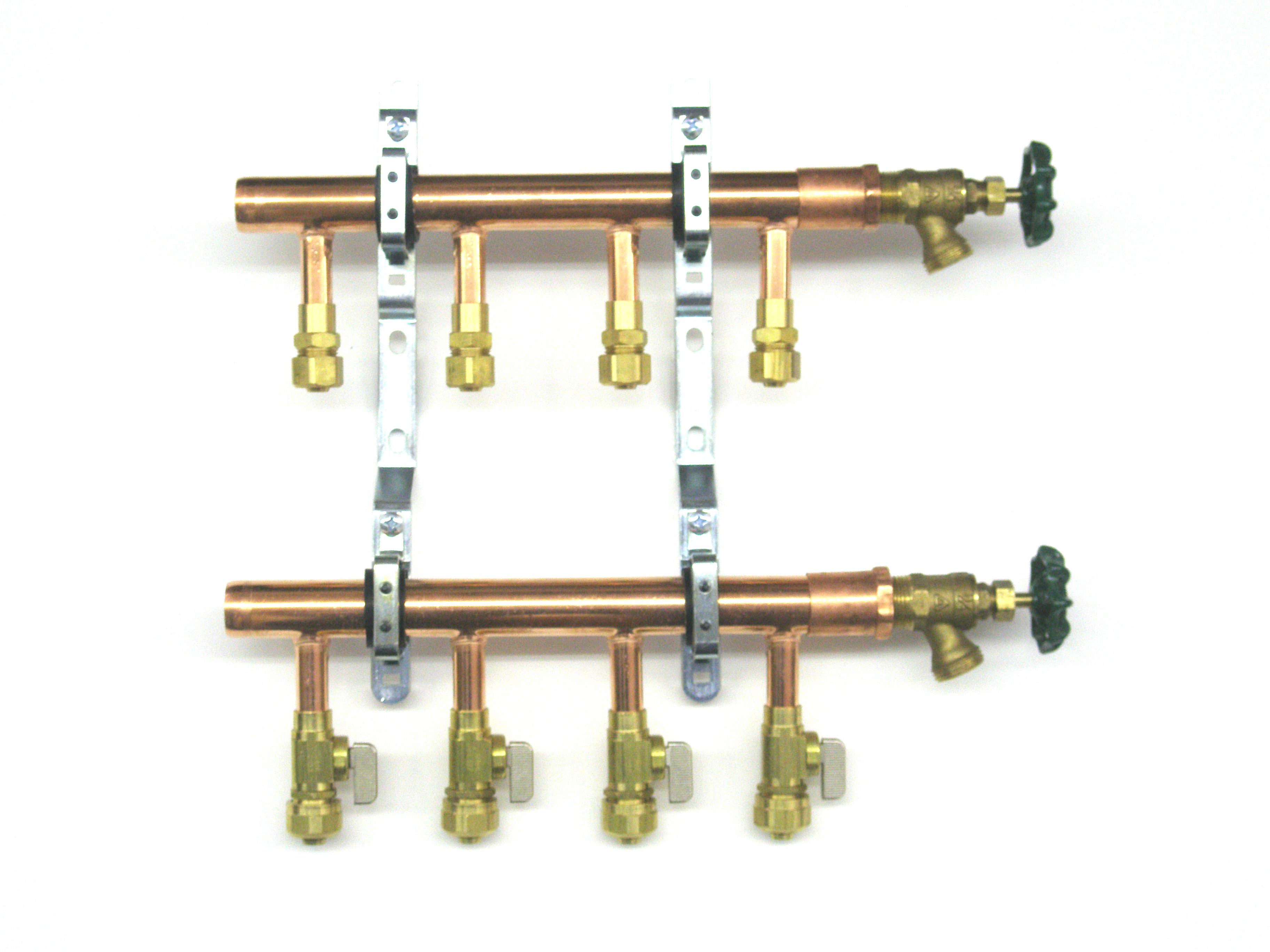 Copper Unassembled Pex Manifolds