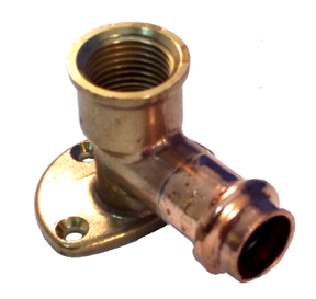 Copper Press Drop Ear Elbows
