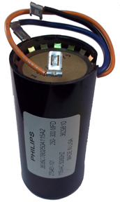 Submersible Capacitor with Overload