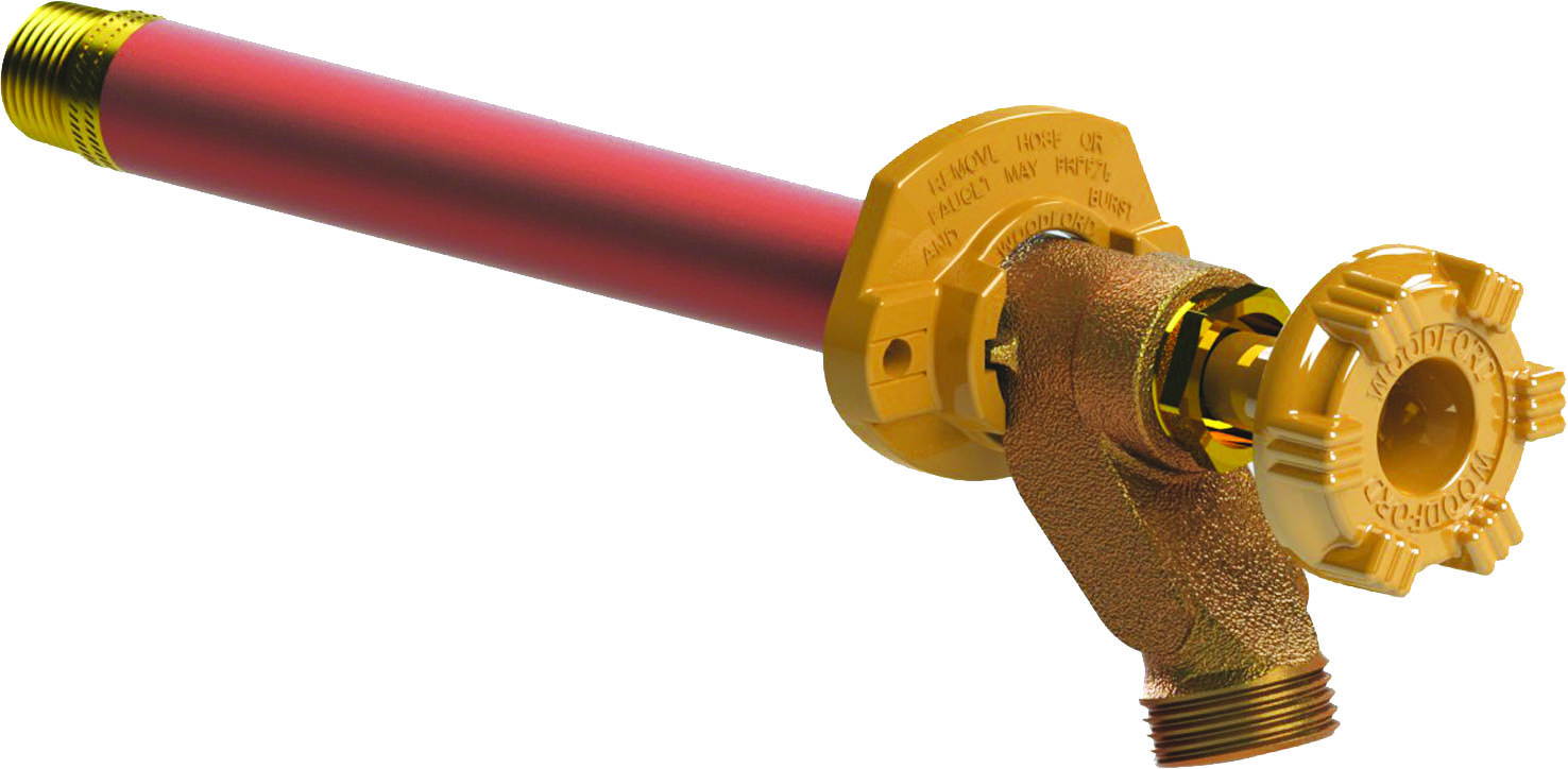 Hydrant without Vacuum Breaker