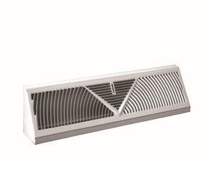 Bar Style Floor Grilles with Damper